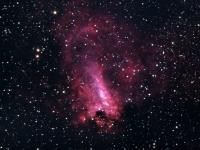 M17 Omega nebulosan
