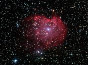 NGC 2174 Monkey nebulosan