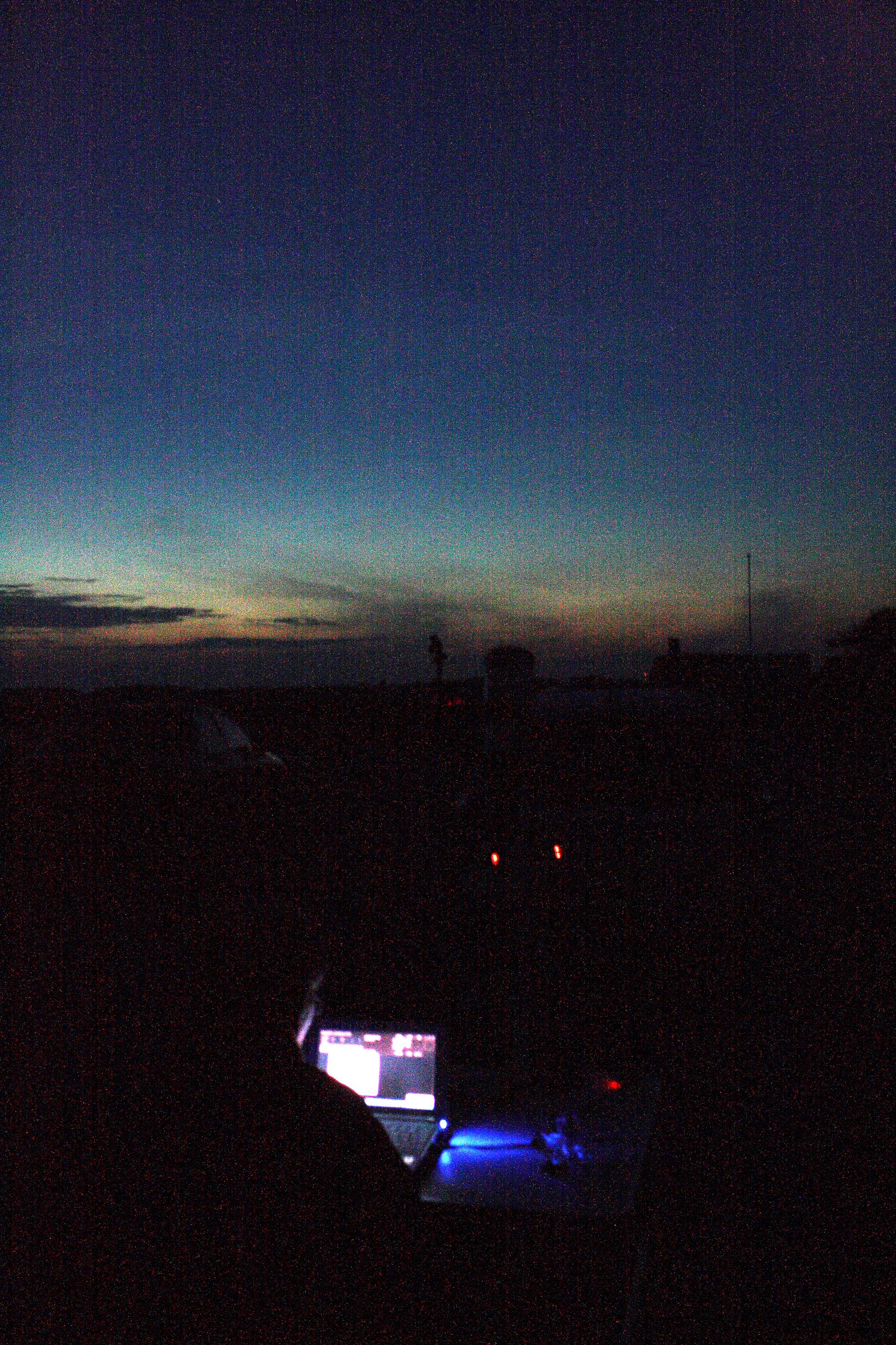 Sagittarius 11 - Eketorps borgs parkeringsplats, dags för astrofoto