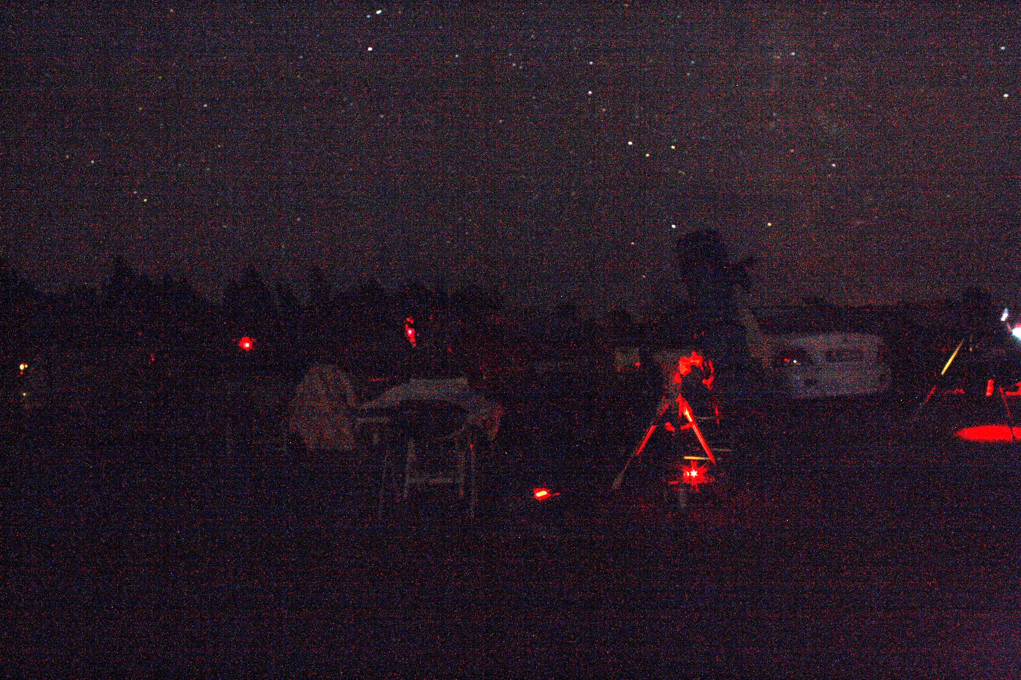 Sagittarius 12, fredag kväll 17.8.2012 Eketorp borgs p-plats