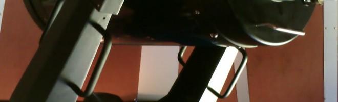 GAF:s LX200 på 12 tum sitter uppe i ett observatorium igen, denna gången det tidigare i Grönhögen som numera är i privat ägo.