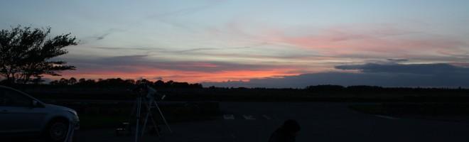 Sagittarius 2014 - Onsdag kväll den 20:e augusti eketorp Borgs parkering