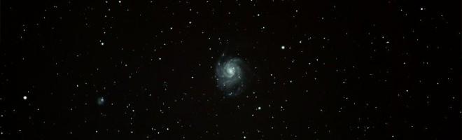 Messier 101, Virvelgalaxen, färgjusterad