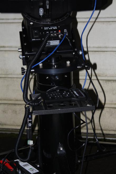 Teleskopet igång igen efter en månads regnstopp