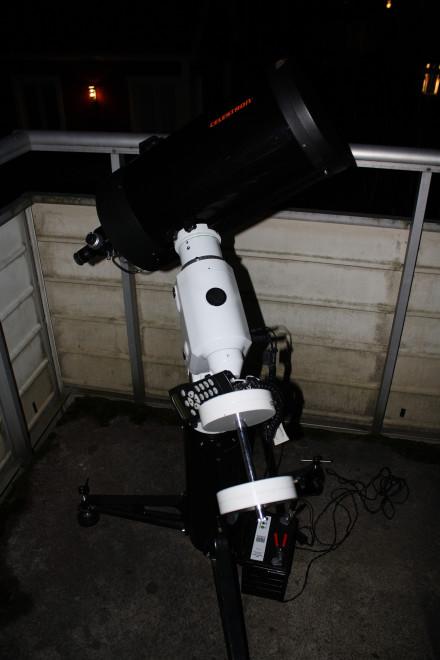 Förberedelser för vintern - LX200 in - Celestron 9.25 ut