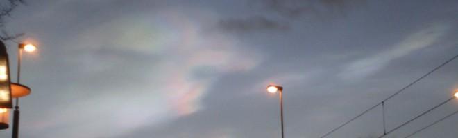 Pärlemormoln högt uppe i stratosfären?