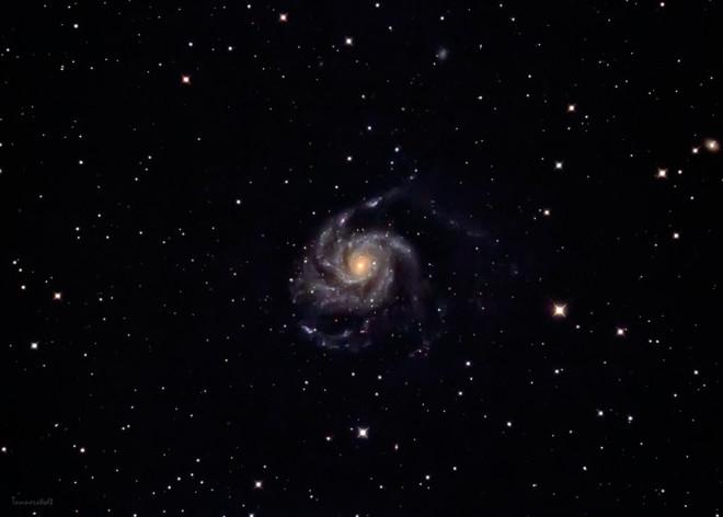 Messier 101 - Vindsnurregalaxen