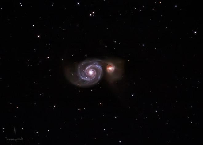 Messier 51 - Malströmsgalaxen