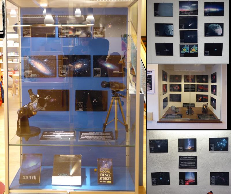 Årets utgåva av Astronomins Dag och Natt-utställning i Borgholm.