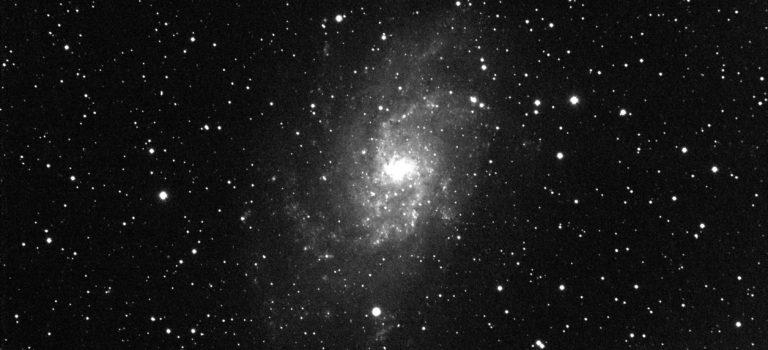 Messier 33 i hög upplösning genom 102-mm refraktorn