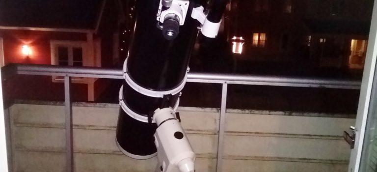 Min10 tums Newton i premiär ute på balkongen