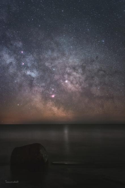 Galaxkärnan. Foto: Jörgen Tannerstedt