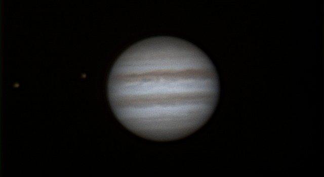 Från arkivet 2016: Io, Europa och Jupiter