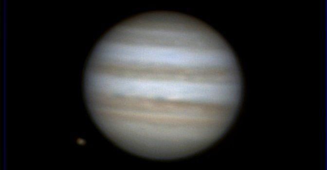 Jupiter och Ganymedes