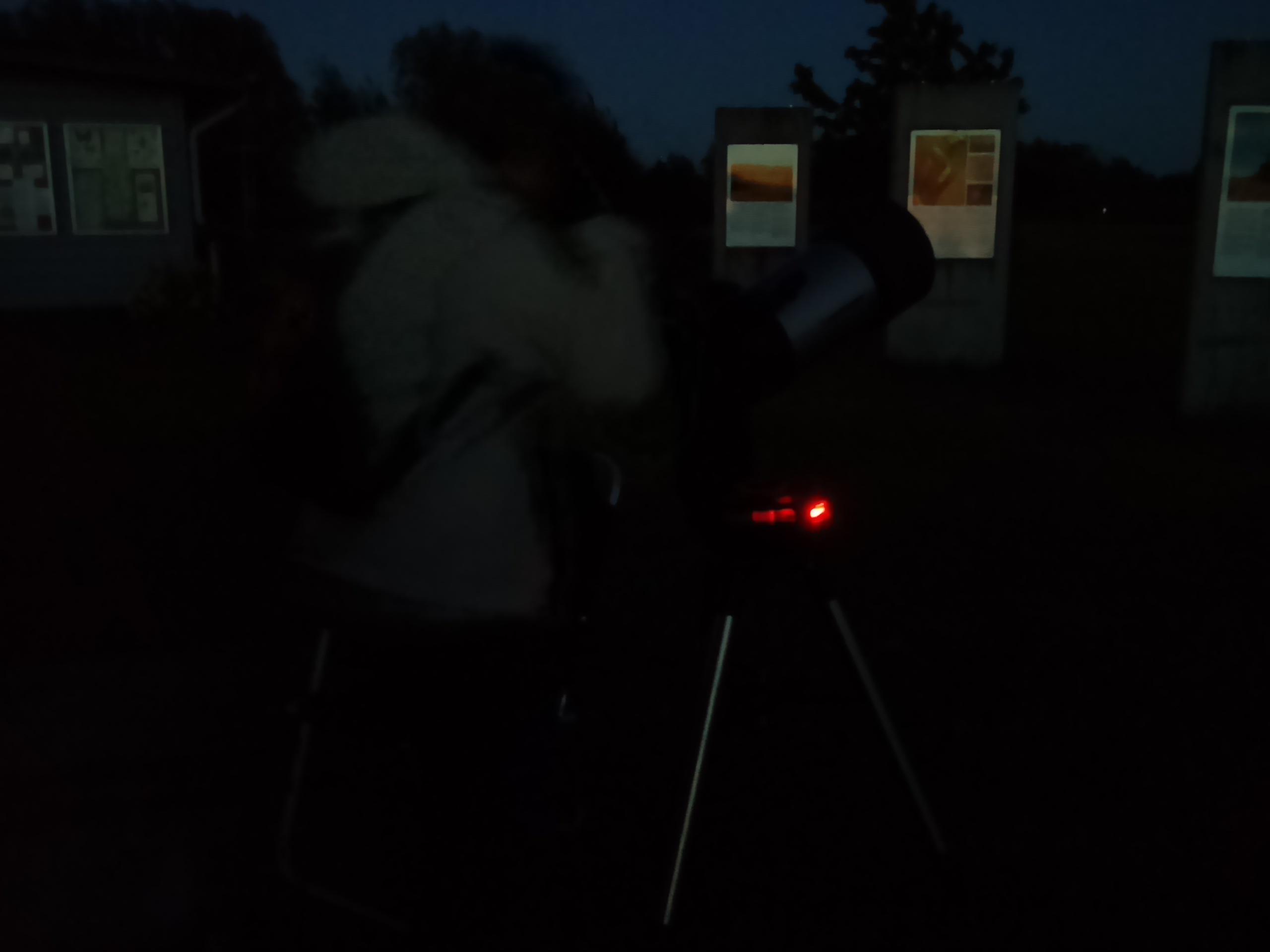 Astronomisk visningskväll den 2:e juni 2017 vid station Linné