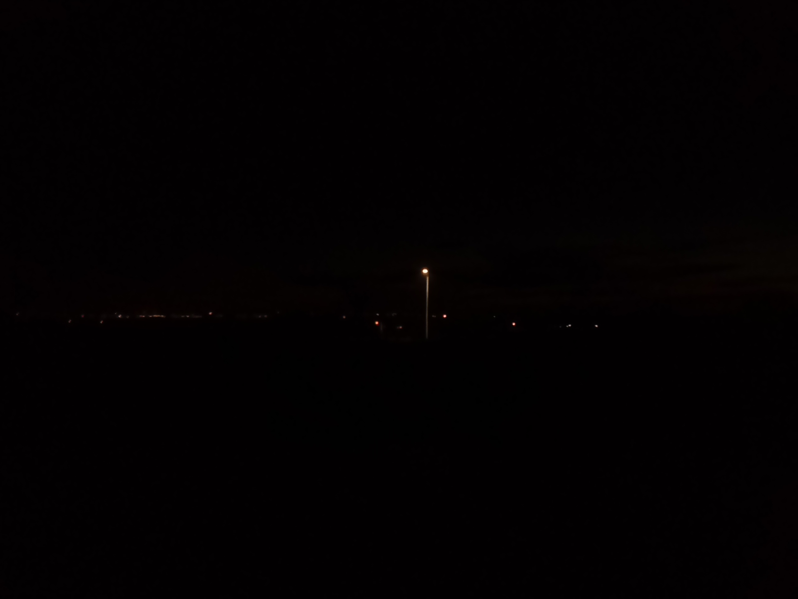 LED-lampa infarten till station Linné