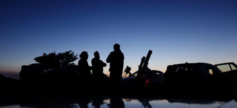 Sagittarius 2017 –  En stämningsbild från den klara natten