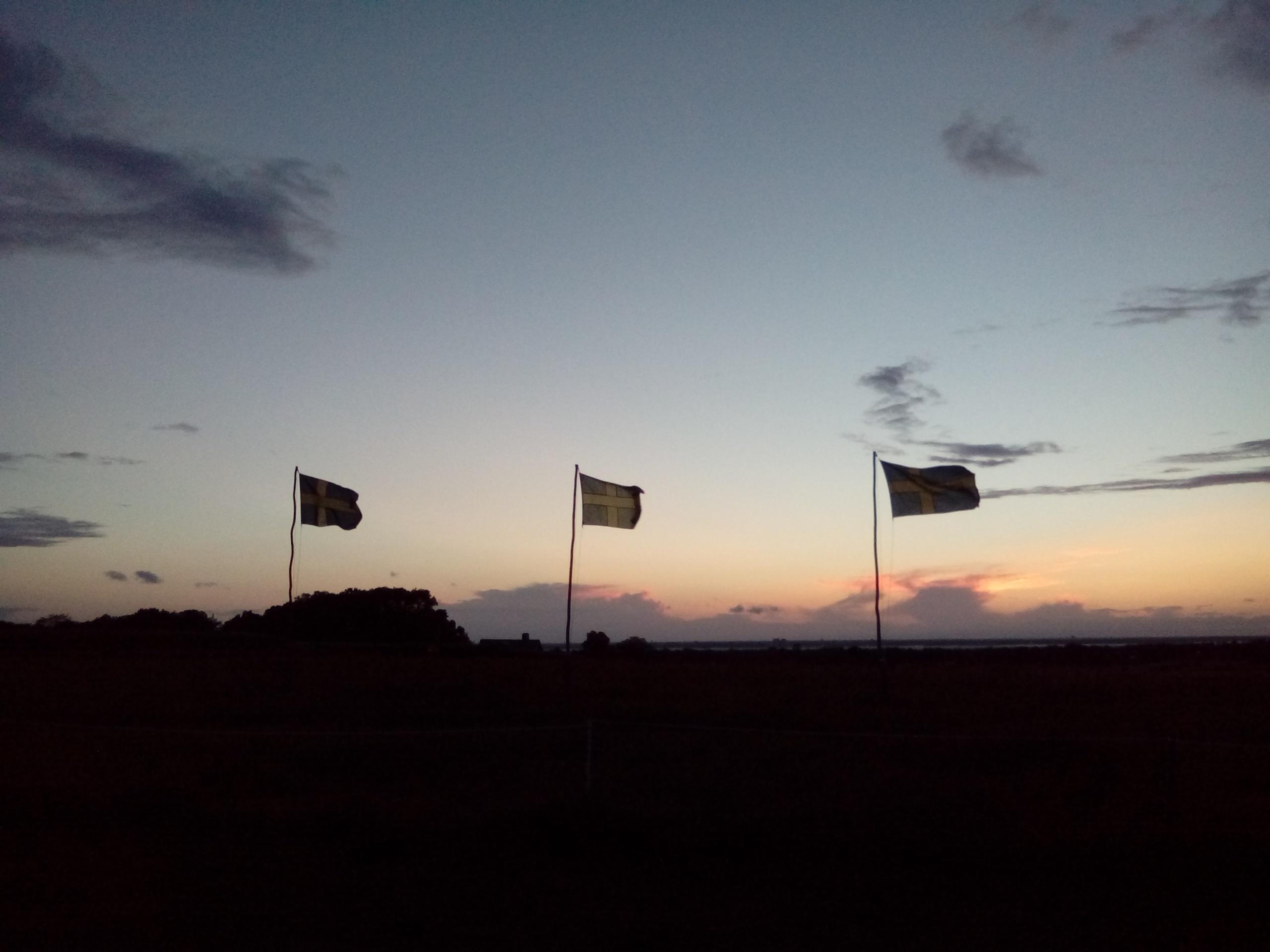 Den astronomiska visningen för allmänheten den 4 augusti lockade tyvärr få besökare. Vinden var frisk hela kvällen.