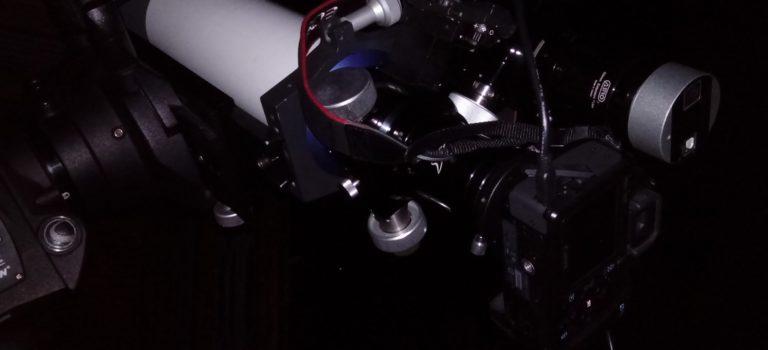 CGEM DX-monteringen med två refraktorer provad