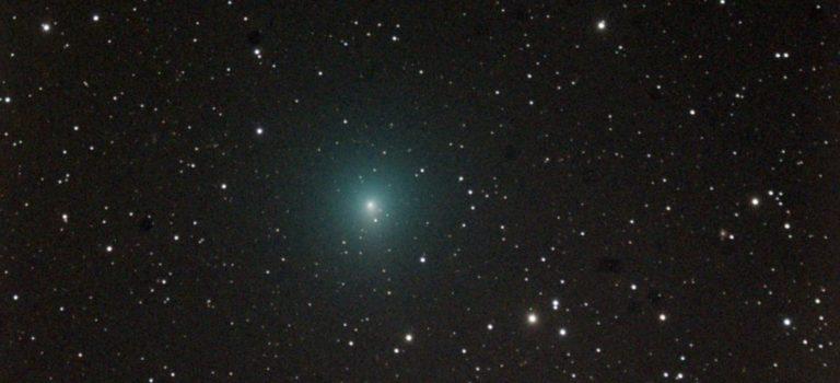 Vinterns intressantaste komet för oss i sydsverige blir 46p/Wirtanen