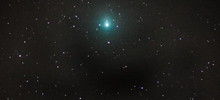 Komet Wirtanen fotograferad från Djursvik