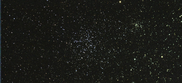 Öppna stjärnhopar i Auriga