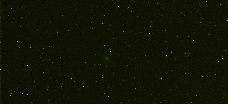 M45 Plejaderna och Komet 64p Swift-Gehrels