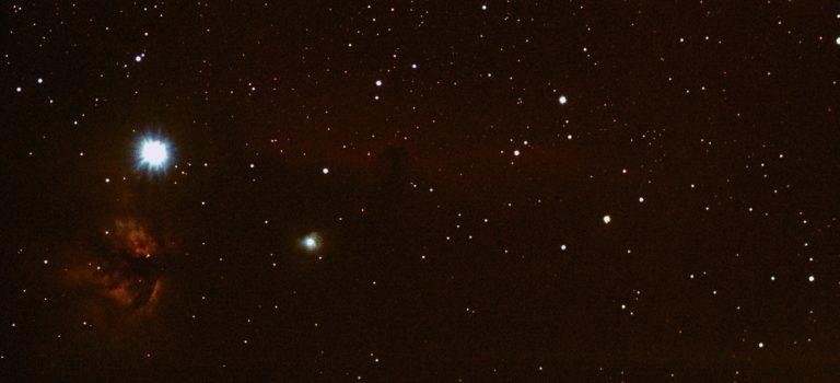 Vinterns finaste: B33 och IC434 – Hästhuvudnebulosan