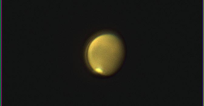 Mars i mitten av augusti